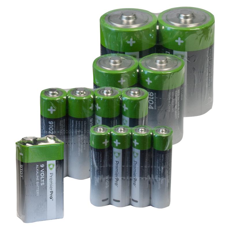 PremierPro AAA Batteries (Case Of 144)