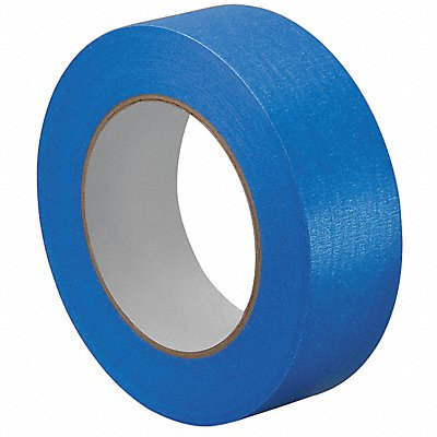 Paper Painters Masking Tape Rubber Tape Adhesive 5.50 mil Thick 1-1/2 X 60 yd. Blue 1 EA