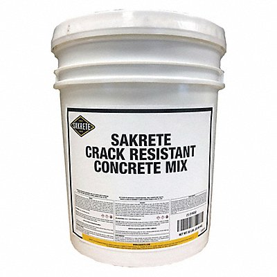 50 lb Pail Concrete Mix Gray 0.38 cu ft Coverage Starts to Harden in 1 day