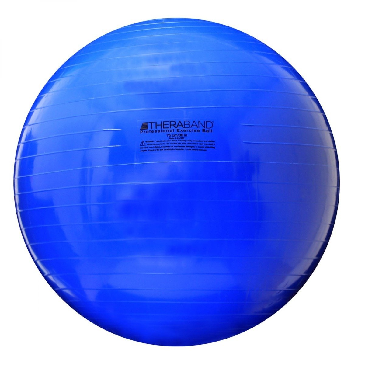 TheraBand Standard Exercise Ball, 75 cm, Blue