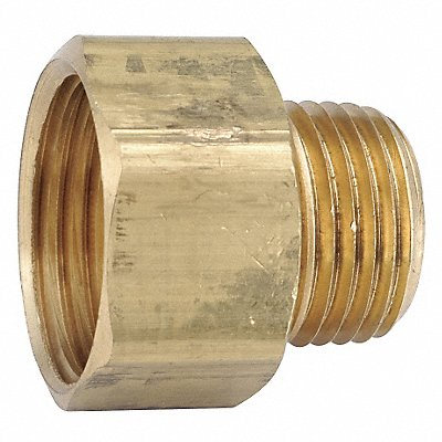 Low Lead Brass Female Adapter 3/4 FGH x 1/2-14 MNPT Connection