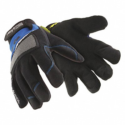 Cut Resistant Gloves ANSI/ISEA Cut Level A9 SuperFabric? Lining Black Blue L PR 1