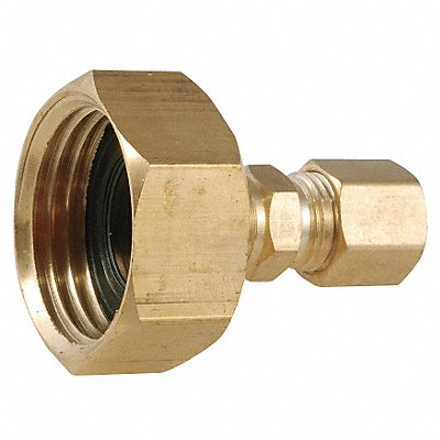 Low Lead Brass Female Adapter 3/4 FGH x 1/4 Compression Connection