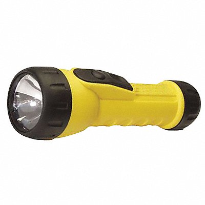 General Purpose LED Handheld Flashlight Plastic Maximum Lumens Output 20 Yellow