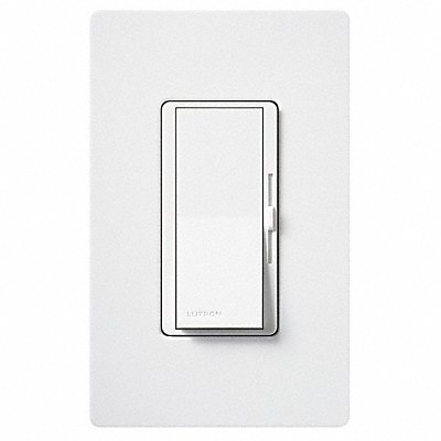 Concealed with On/Off Rocker Lighting Dimmer Fluorescent LED Light Technology 1-Pole 3-Way