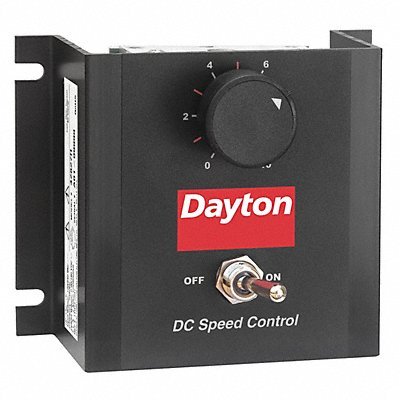 DC Speed Control Chassis 100/200VDC Shunt Wound Volts 0 to 90/180VDC Voltage Output 2 Max Amps