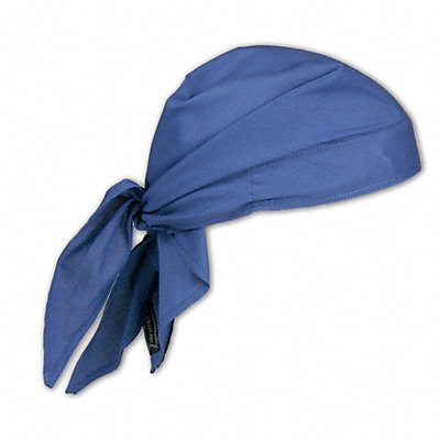 Evaporative Cooling Triangle Hat PVA and Cotton Blue Universal 1 EA