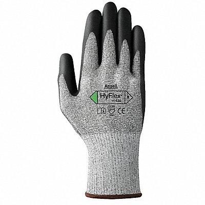 Polyurethane Cut Resistant Gloves ANSI/ISEA Cut Level 3 Dyneema? Lycra? Lining Black Gray 9 P