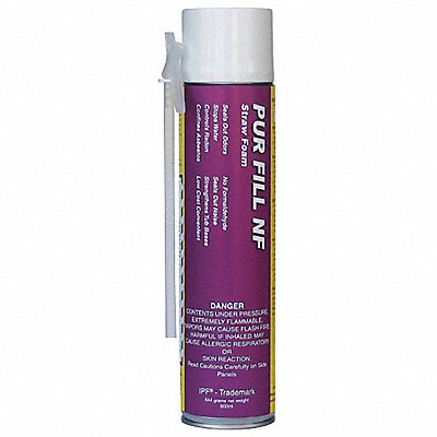 Multipurpose/Construction Insulating Spray Foam Sealant 24 oz Aerosol Can and Foam Dispenser Yell