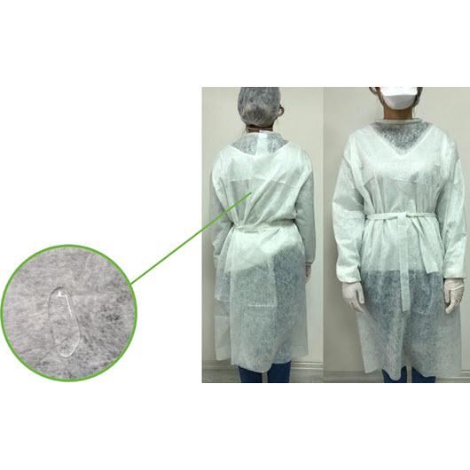 Disposable Nonwoven Gown