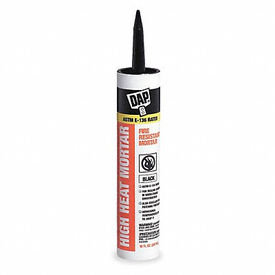 Black Silicate Cement Hybrid 10.1 oz Cartridge