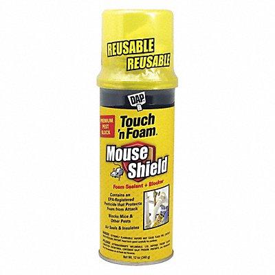 Pest Control Insulating Spray Foam Sealant 12 oz Aerosol Can Beige