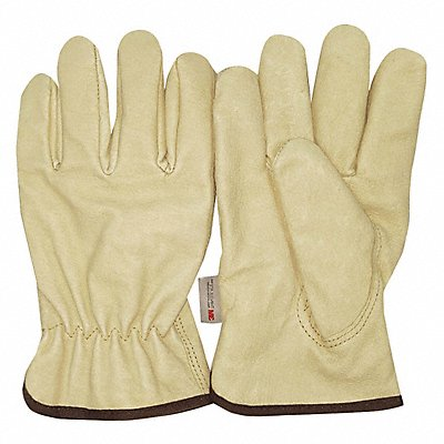 Cold Protection Gloves Thinsulate Lining Slip-On Cuff Cream L PR 1