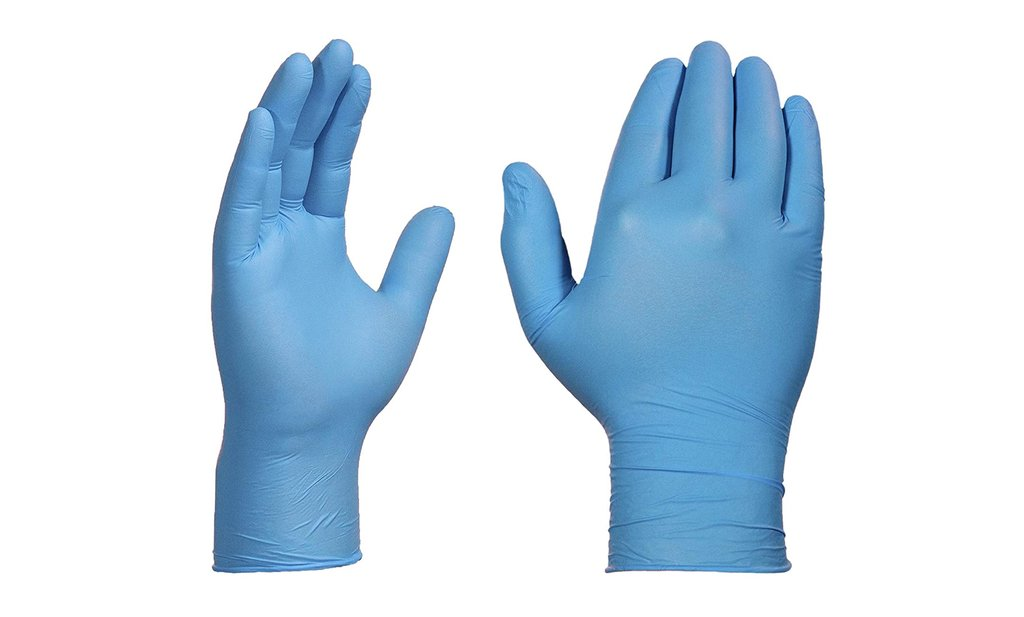 Nitrile Gloves Blue Case Pack 1,000 - Available in Small, Medium, Large, or X-Large