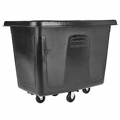Black Cube Truck 11.9 cu ft Capacity 400 lb Load Capacity