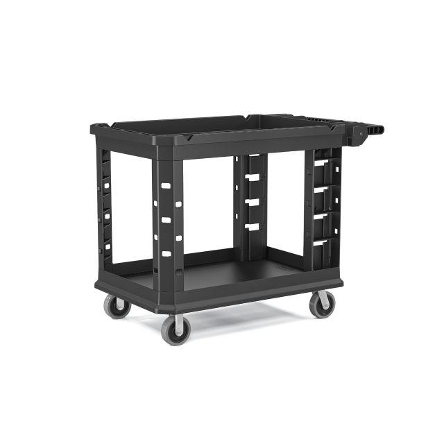 Suncast Standard Duty Plastic Utility Cart 26.5 in.