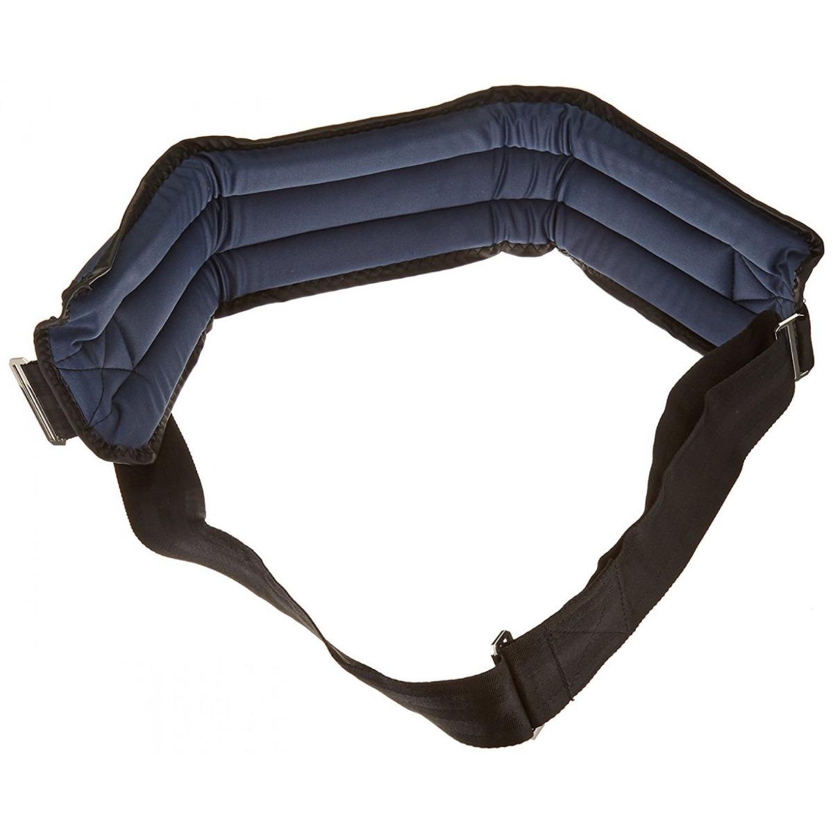 Sammons Preston Front-Release Padded Wheelchair Belt, Hook & Loop Belt