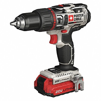 1/2 Cordless Hammer Drill Kit 20.0 Voltage Battery Included