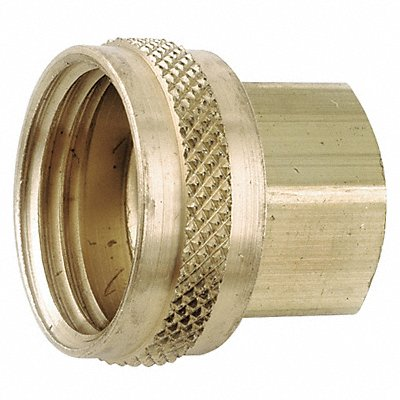 Low Lead Brass Female Swivel 3/4-14 FNPT x 3/4 FGH Connection