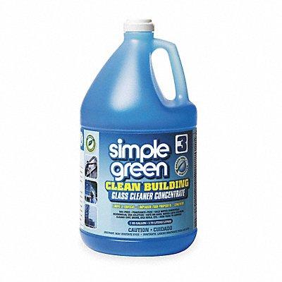 Glass Cleaner 1 gal Jug Unscented Liquid 1 30 2 PK