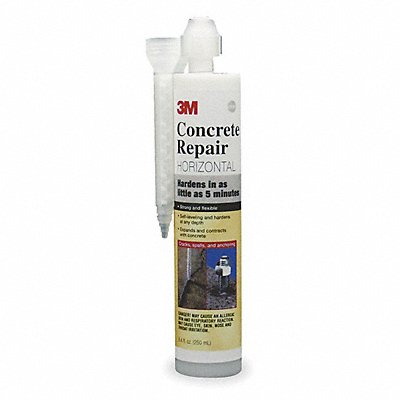 Gray Concrete Repair 8.4 oz Cartridge Coverage Not Specified