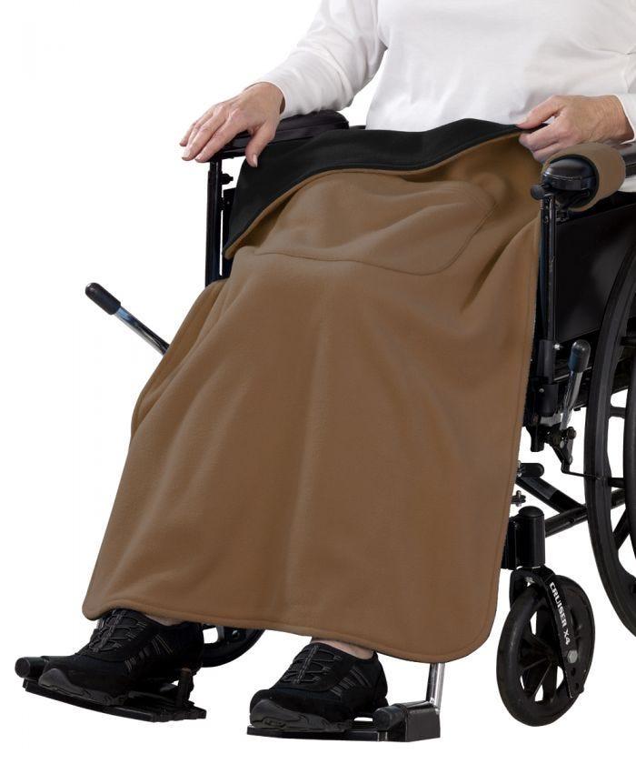 Snap On Wheelchair Blanket