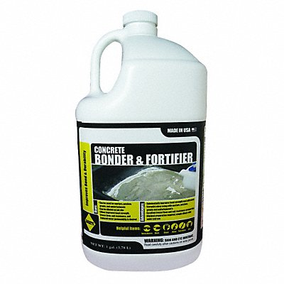 White Concrete Bonding Additive 1 gal Jug Coverage 500 to 800 sq. ft.