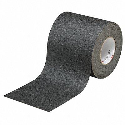 Solid Black Anti-Slip Tape 6 x 60.0 ft. 60 Grit Aluminum Oxide Rubber Adhesive 1 EA