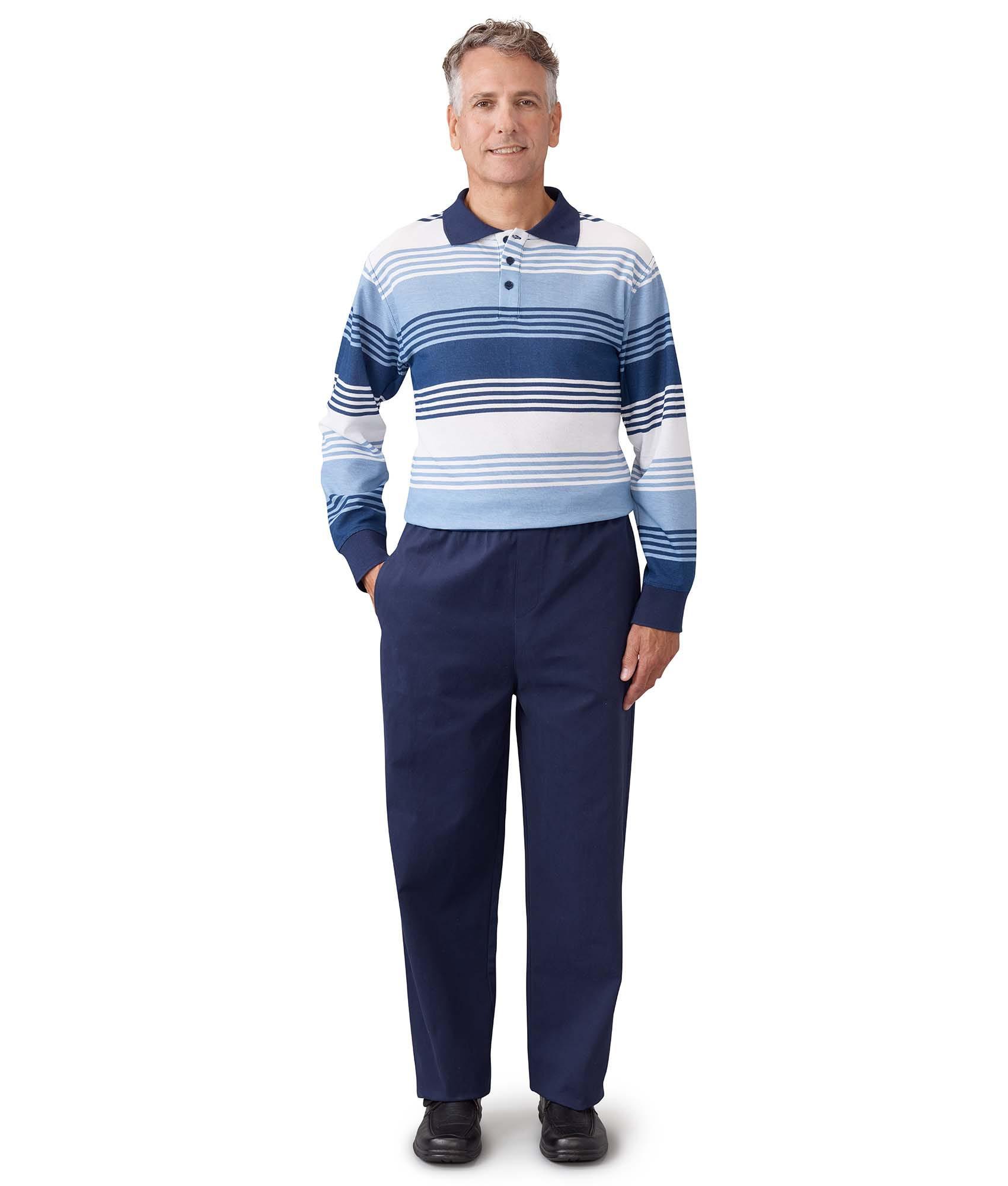Men's Antistrip Suit 2-Piece Look Long Sleeve