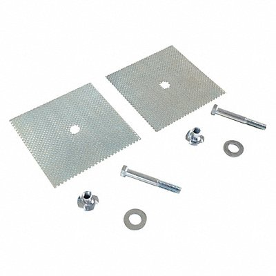 Parking Curb Glue Down Kit For Use With Parking Stop
