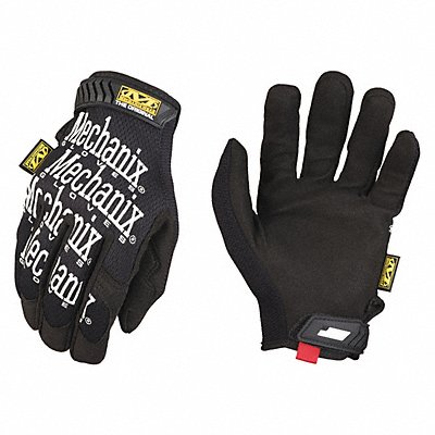 General Utility Mechanics Gloves Synthetic Leather Palm Material Black/White XL PR 1