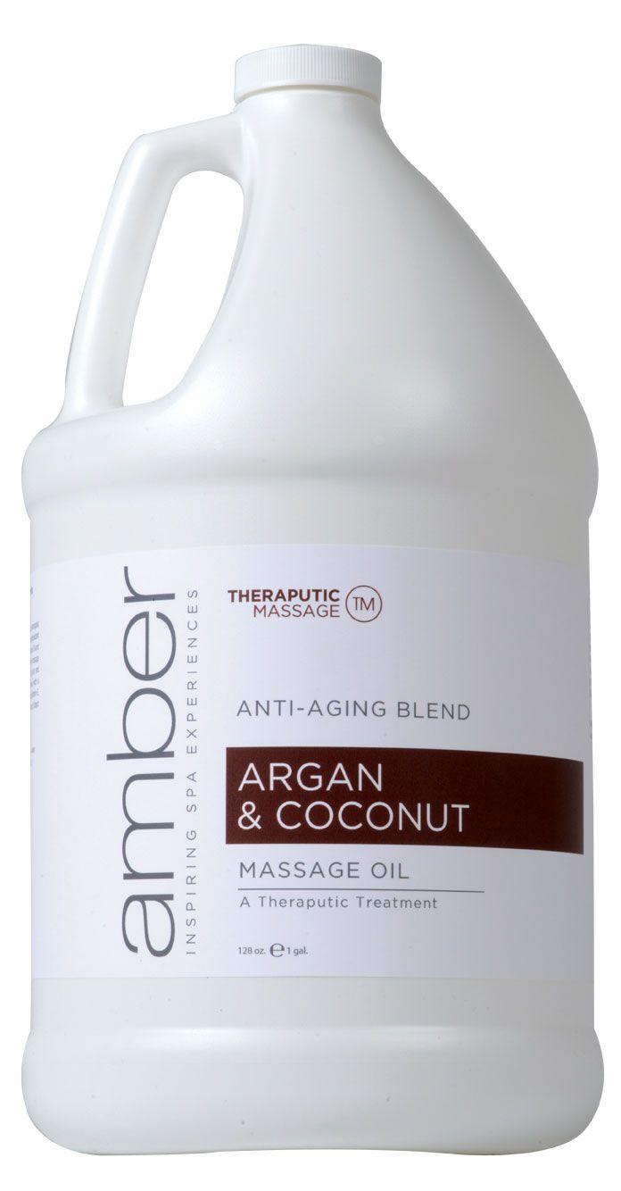 Amber Argan & Coconut Massage Oil