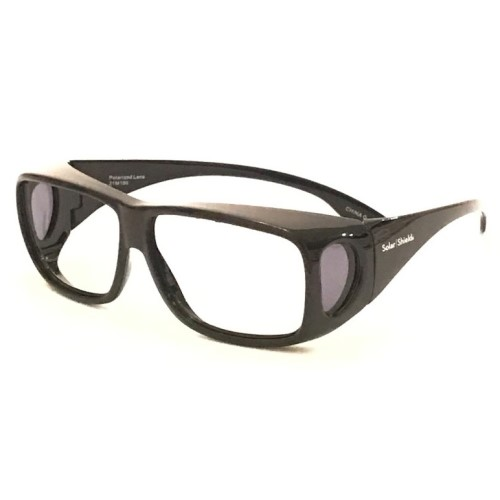 USAXRAY Large Fit-Over Glasses, Leaded Eyewear- Fits Over Most Prescription Glasses- .75Mm Pb Front