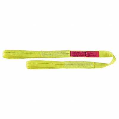 Color Code: Yellow Nylon//Polyester 6 ft 3//4 Diameter Eye and Eye Round Sling