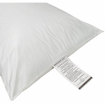 25 x 18 Small Microvent Fiber Fill Pillow White