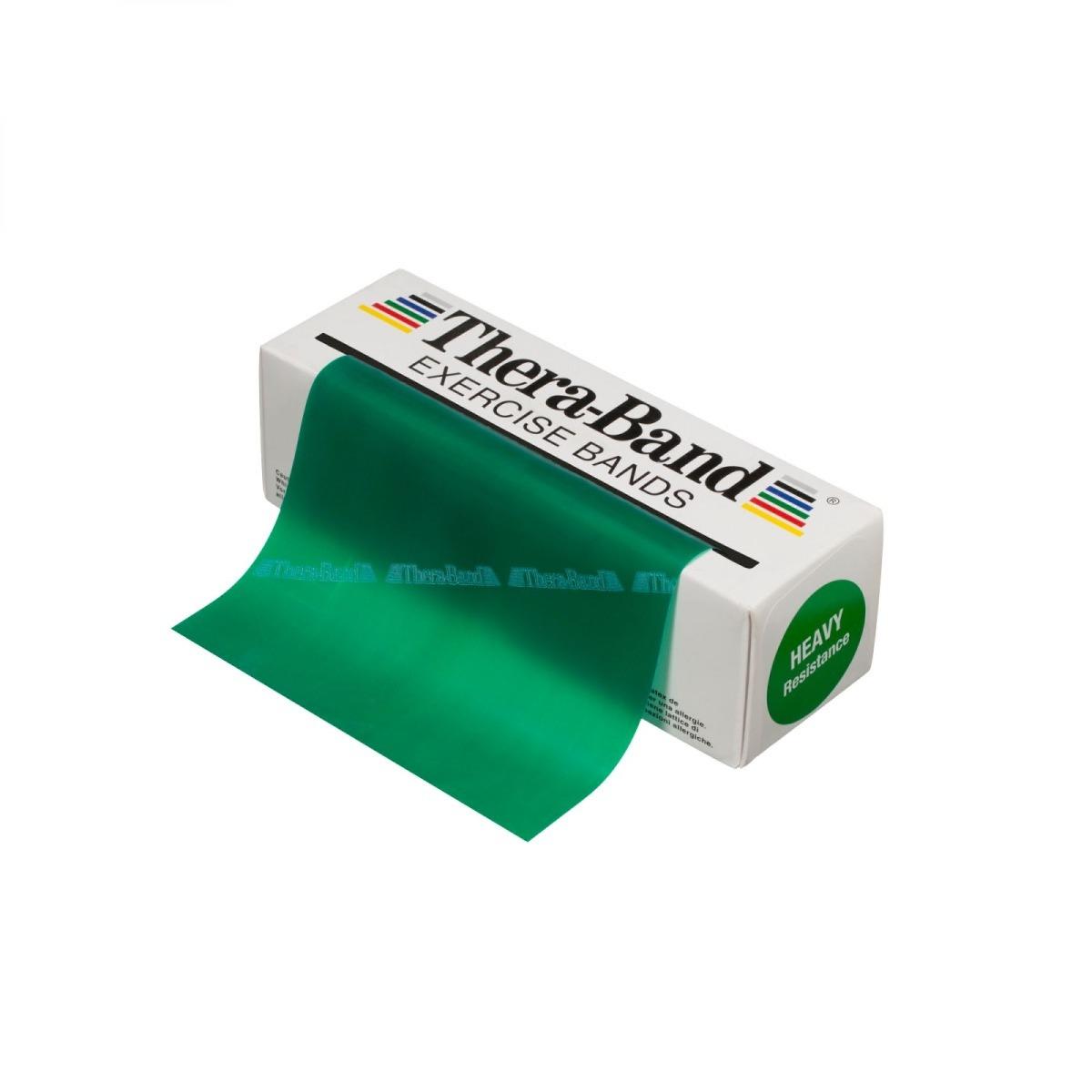 TheraBand 6 yard, Dispenser Box, Level 3, Green, Heavy