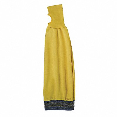 Kevlar? Sleeve with Thumbhole 22 L Knitted Cuff Yellow Sleeve Size Universal