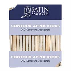 Satin Smooth Contour Applicators, 200Ct