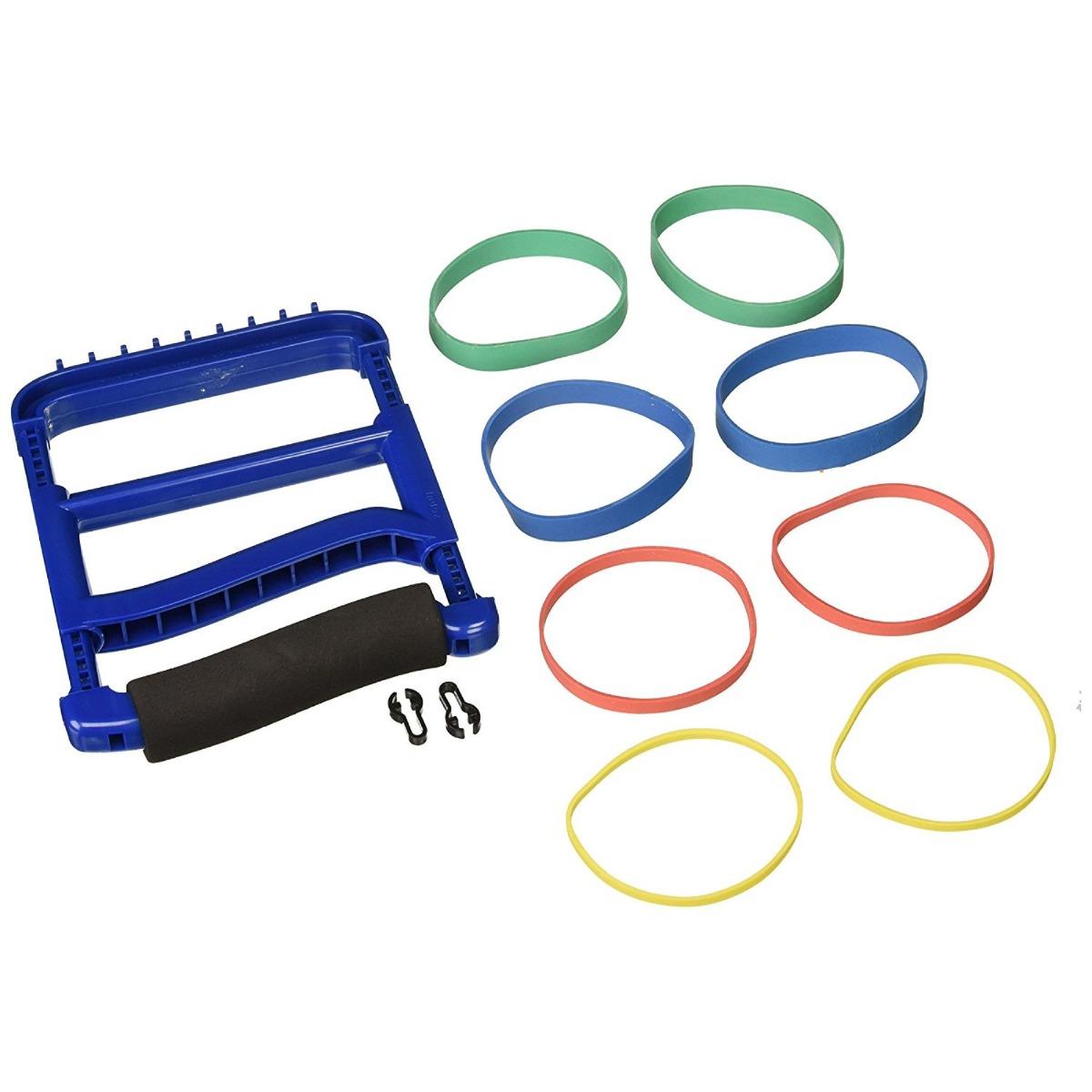 Rolyan Ergonomic Hand Exerciser, Blue, Each