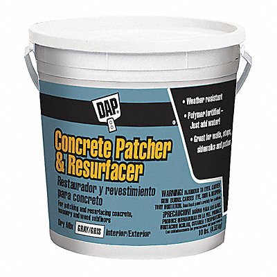 Gray Patch and Resurfacer 10 lb Pail Coverage Not Specified