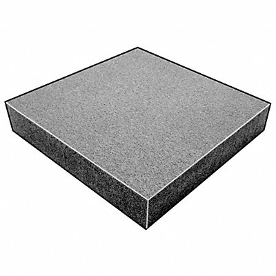 Water-Resistant Closed Cell Foam Sheet 220 Polyethylene 3/8 Thick 24 W X 18 L Charcoal