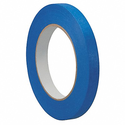 Paper Painters Masking Tape Rubber Tape Adhesive 5.50 mil Thick 1/8 X 60 yd. Blue 1 EA