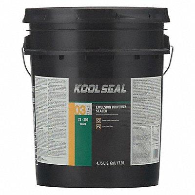 5 gal Pail Asphalt Sealer 4 hr Dry Time Recoat 1 day Full Cure Time