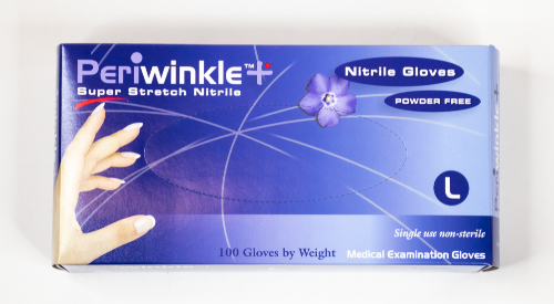 Nitrile Exam Gloves, Blue, L and XL Available, 1000 Gloves per Case