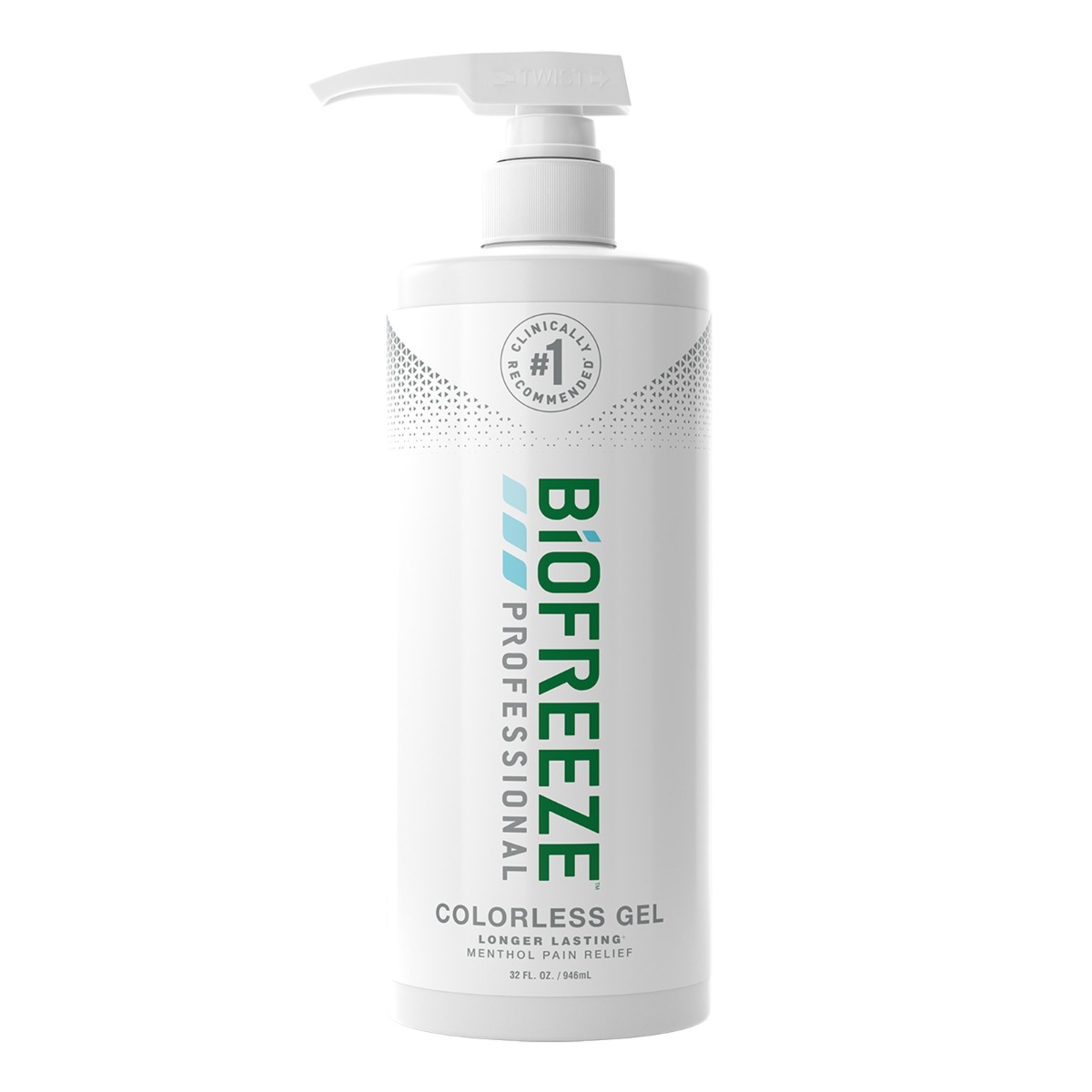 Image for Biofreeze Professional - 32 oz. Gel with Pump - Colorless from Stockd.