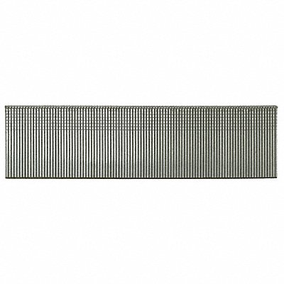 Straight Finish Nails 18 ga. Gauge 1-1/2 Length Steel Galvanized Strip Package Quantity 5000