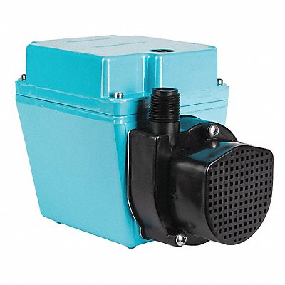 1/12 HP Compact Submersible Pump 115V Voltage Continuous Duty 6 ft Cord Length