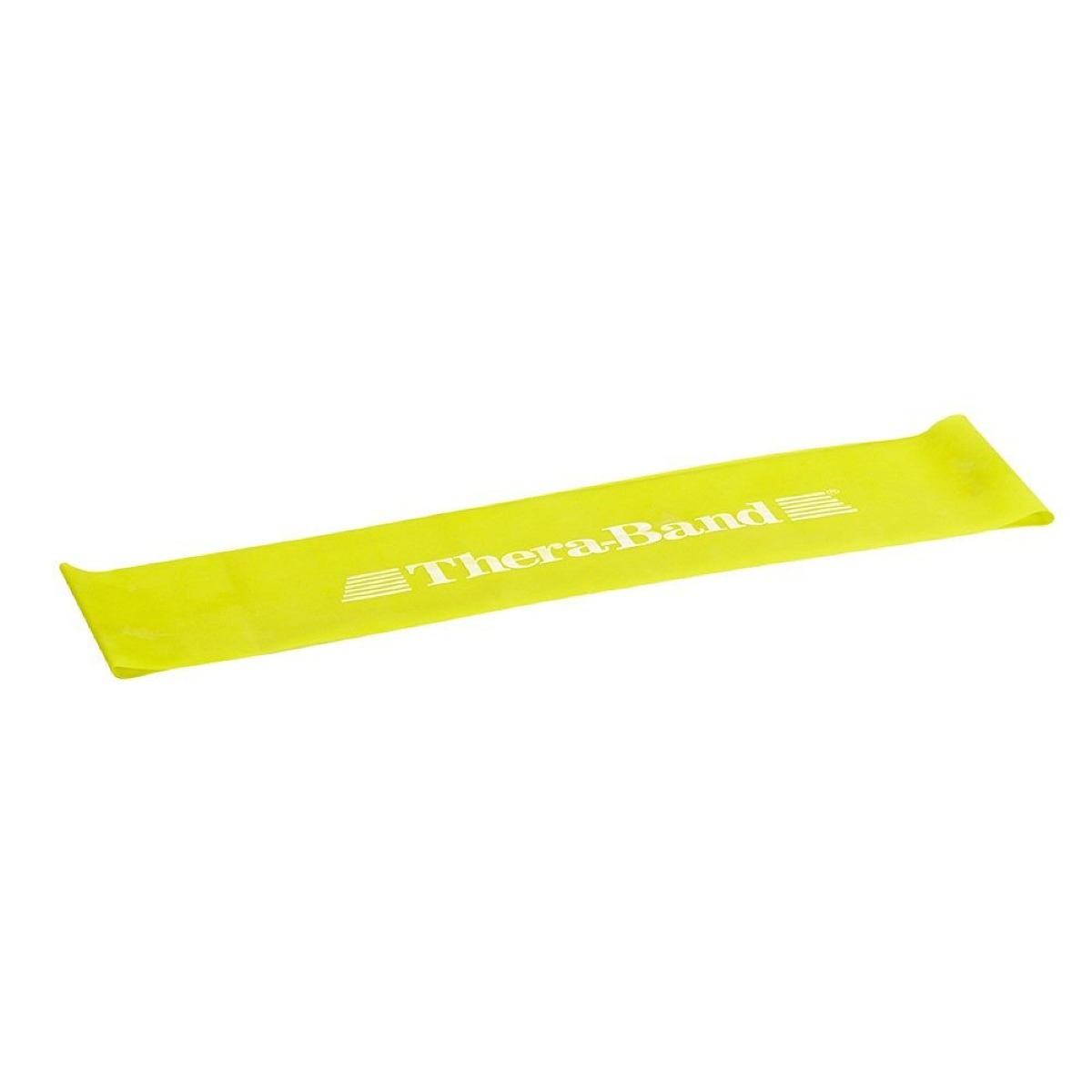 "TheraBand Loops, 8"" Flat, Level 1, Yellow, Thin"
