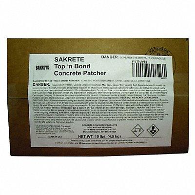 Gray Concrete Patcher 10 lb Box Coverage 4.5 sq. ft.