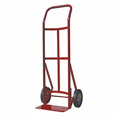 Hand Truck 300 lb Load Capacity Continuous Frame Flow-Back 14 Noseplate Width